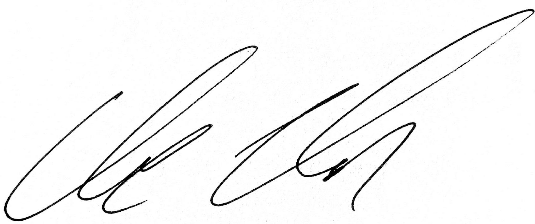 nicholson signature