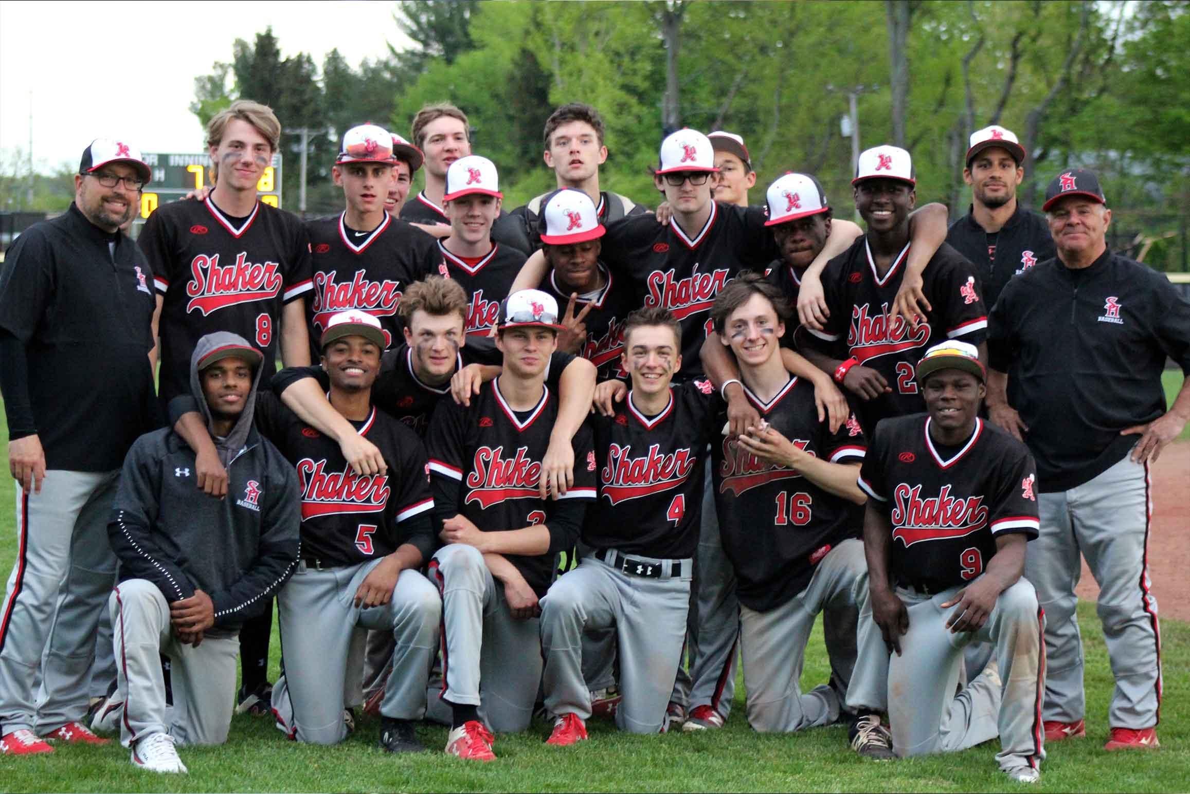shaker baseball team