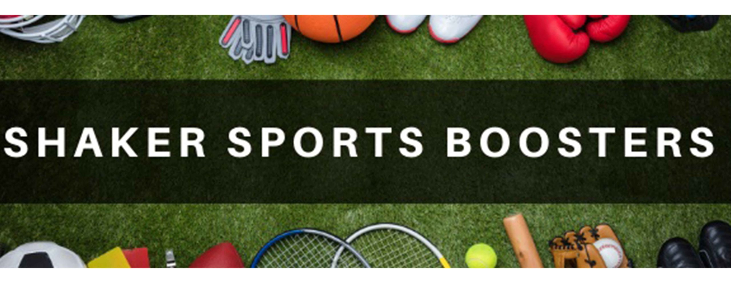sports boosters banner
